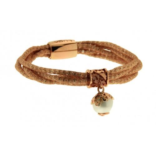 bracelet en fil de cuivre argent perle cz brb89 10 bijouterie larouche montr al. Black Bedroom Furniture Sets. Home Design Ideas